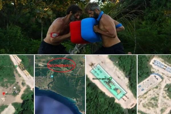 Εδώ γυρίζεται το Survivor - Ένα μικρό χωριό γεμάτο πίστες! Δείτε που βρίσκεται μέσω Google Earth!
