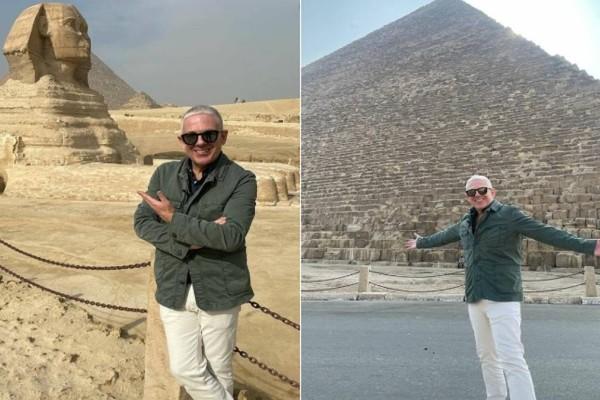 Ο Τάσος Δούσης και οι «ΕΙΚΟΝΕΣ» ταξιδεύουν «στη Γη των Φαραώ», τη μαγευτική Αίγυπτο!