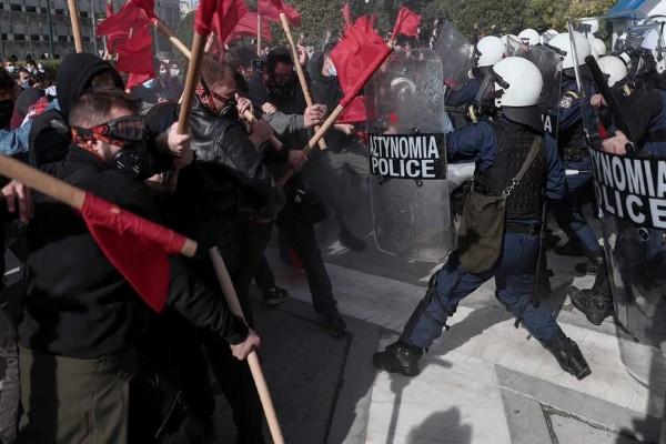 Χάος στη Θεσσαλονίκη: Πλήθος προσαγωγών στο πανεκπαιδευτικό συλλαλητήριο