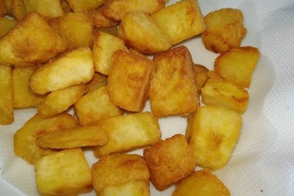 Σπιτικές προτηγανισμένες πατάτες για κατάψυξη