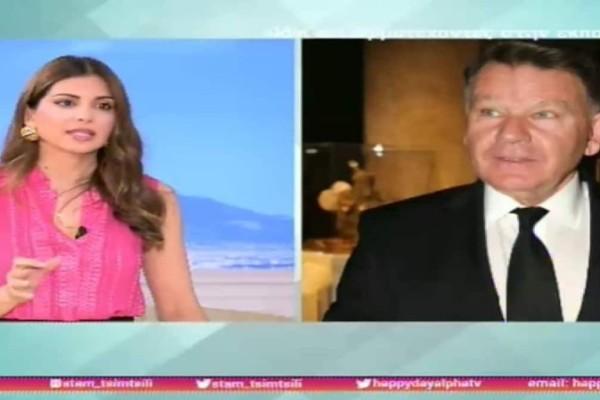 Έξαλλος ο Αλέξης Κούγιας στην εκπομπή της Τσιμτσιλή - Της έκλεισε το τηλέφωνο! (Video)