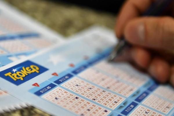 Κλήρωση Τζόκερ: Αυτοί είναι οι τυχεροί αριθμοί για τα 1.300.000 ευρώ