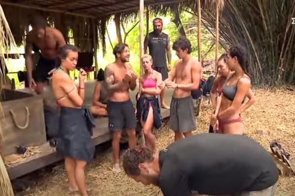 Survivor 4: Παύλος και Μαριάνθη αντιδρούν με την κόκκινη ομάδα - Θέλουν να δώσουν φαγητό στον Ντάφυ!