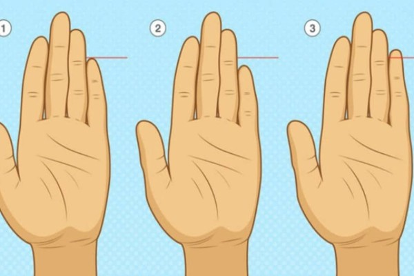 Το μέγεθος του μικρού σας δαχτύλου μπορεί να αποκαλύψει πολλά - Δείτε αν ισχύει για εσάς!