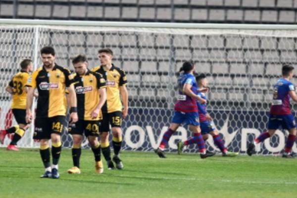 Super League: ΑΕΚ ντροπή, έχασε ξανά από τον Βόλο! (video)