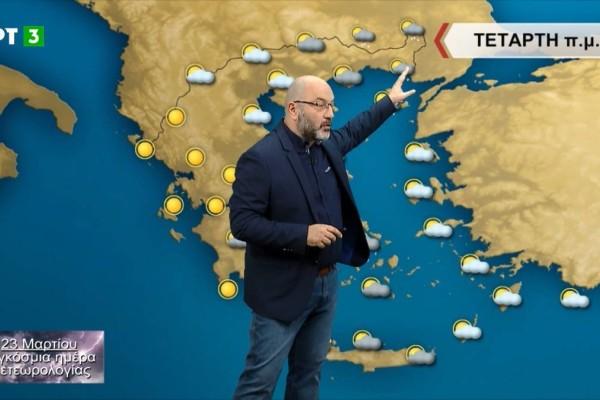 «Προσοχή το πρωί με τα χιόνια στην Αττική γιατί...» - Ο Σάκης Αρναούτογλου προειδοποιεί