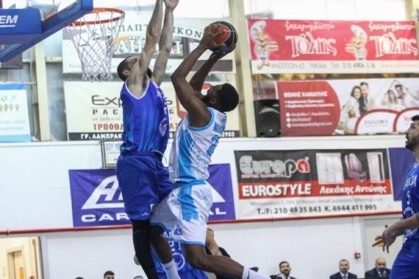 Basket League: Ανατροπή και βήμα παραμονής από Ιωνικό (Video)