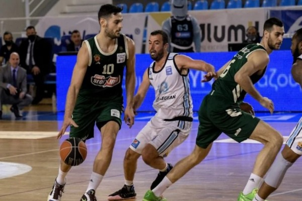 Basket League: «Βομβάρδισε» τη Ρόδο με τρίποντα ο Παναθηναϊκός (Video)