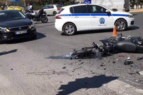 Τροχαίο έξω από τη Βουλή: Δεν συνελήφθη από τις Αρχές ο υπεύθυνος για το ατύχημα