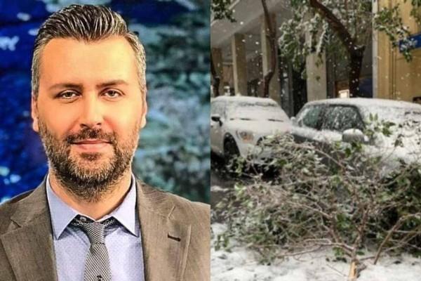 Ο Γιάννης Καλλιάνος προειδοποιεί: «Παγώνει» η χώρα την 25η Μαρτίου - Πού θα χιονίσει