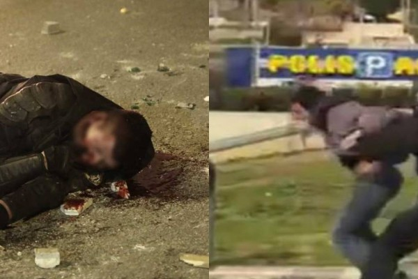 Θλίψη στην Νέα Σμύρνη: Μετά τον ξυλοδαρμό πολίτη… επεισόδια και πτώση αστυνομικού στο έδαφος