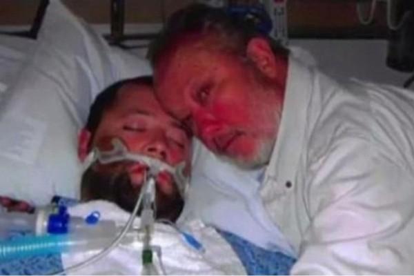 27χρονος ήταν εγκεφαλικά νεκρός - Οι γιατροί είπαν στον πατέρα να αποσυνδέσουν το μηχάνημα και τότε... (Video)