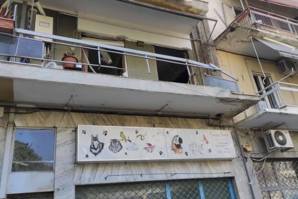 Θεσσαλονίκη: Μεγάλη έκρηξη σε διαμέρισμα - Βρισκόταν μέσα ένας ηλικιωμένος άνδρας (video)