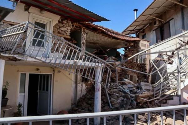 Σεισμός στην Ελασσόνα: Έξι άτομα έχουν απεγκλωβιστεί στο Μεσοχώρι και την περιοχή της Μαγούλας