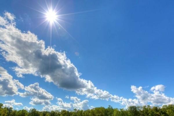 Καιρός σήμερα: Αίθριος με ανεβασμένη θερμοκρασία - Πού θα βρέξει