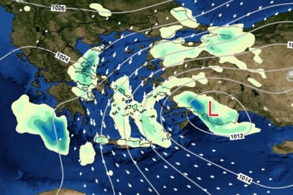 Καιρός: Θα πέσουν χιόνια! Ραγδαία αλλαγή του καιρού το επόμενο διήμερο (photos)