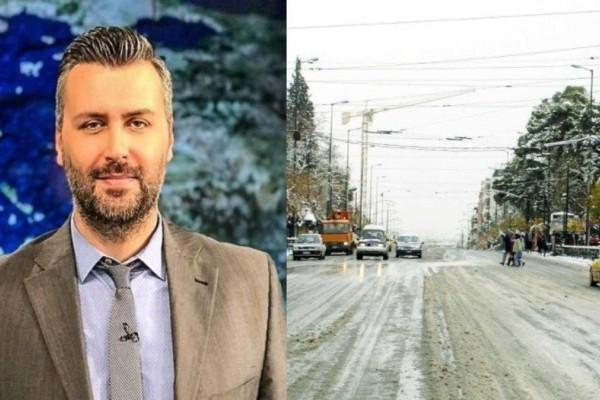Προειδοποίηση Γιάννη Καλλιάνου: Χιόνια και στην Αττική την 25η Μαρτίου!