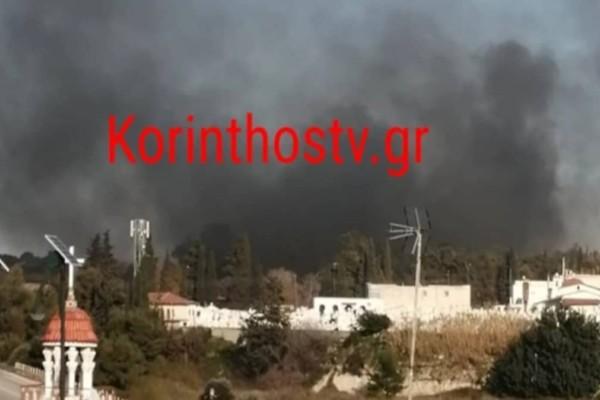 Κόρινθος: Σοβαρά επεισόδια σε κέντρο μεταναστών (Video)