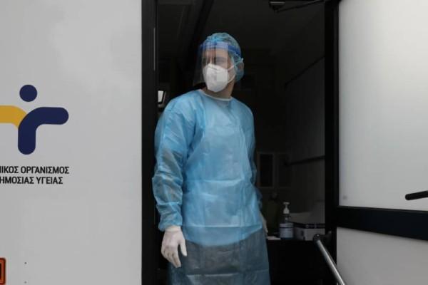 Κορωνοϊός: Στα 1.142 τα νέα κρούσματα - 53 θάνατοι και 466 διασωληνωμένοι