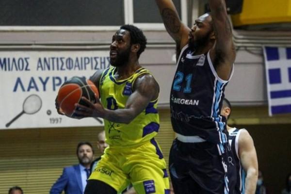 Basket League: Άντεξε και νίκησε στην παράταση το Λαύριο