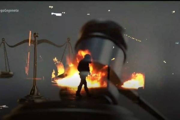 Επεισόδια Νέα Σμύρνη: Νέοι συγκλονιστικοί διάλογοι από την επίθεση στον αστυνομικό - «Όλοι μαζί ρε, ορμάτε ρε» (Video)