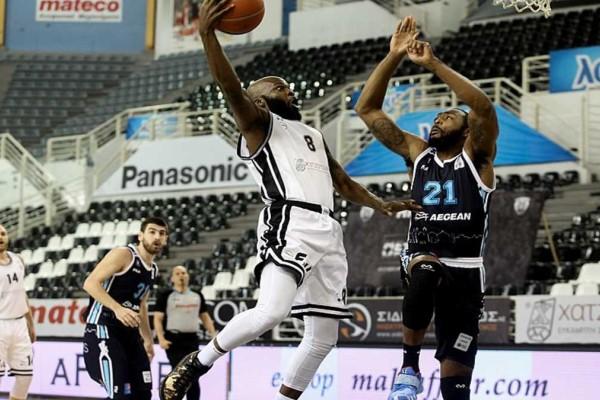 Basket League: Νίκη του ΠΑΟΚ κόντρα στον Κολοσσό με 82 - 74