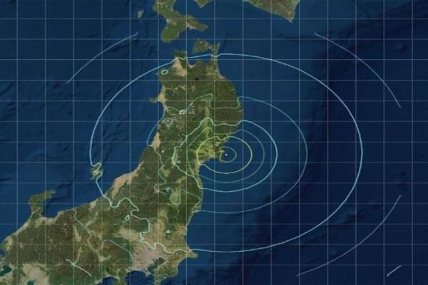 Ισχυρός σεισμός 7,2 Ρίχτερ στην Ιαπωνία! (Video)