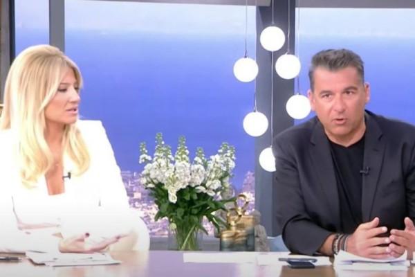 Η αποκάλυψη του Λιάγκα που έφερε σε αμηχανία τη Σκορδά: «Όταν ήμασταν παντρεμένοι με τη Φαίη...» (Video)