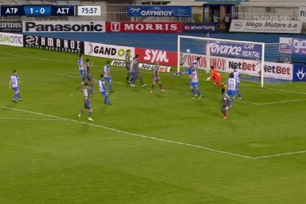 Super League: Όρθιος στο Περιστέρι o Αστέρας Τρίπολης! (Video)