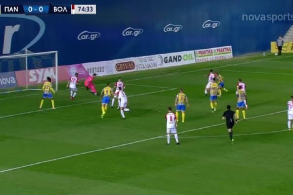 Super League: Τεράστια νίκη-ανάσα για Παναιτωλικό με Βόλο (Video)