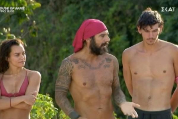 Survivor 4: Αποθέωσε Κοψιδά ο Τριαντάφυλλος - «Το σωστό είναι να φύγω εγώ»