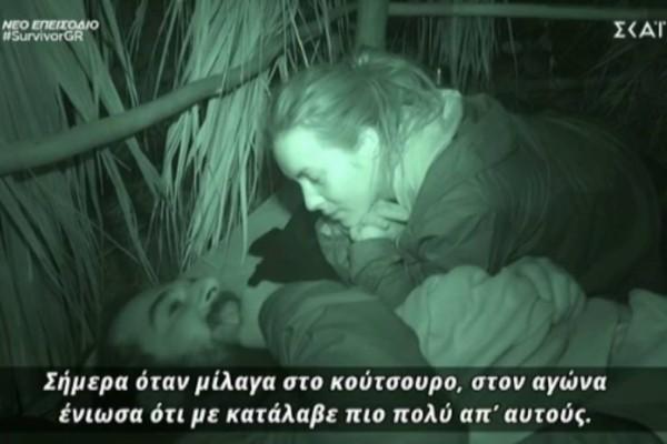Survivor 4: Το πήγε... σε άλλο επίπεδο ο Τριαντάφυλλος - «Το κούτσουρο δάκρυσε»