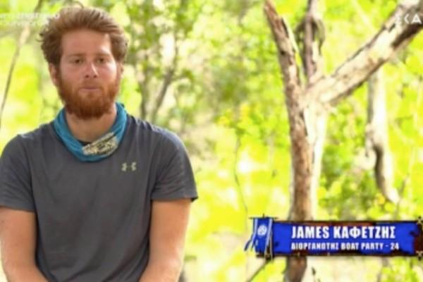 Survivor 4: Ο Τζέιμς αποθέωσε Κοψιδά - «Μαγκιά του που το έκανε»