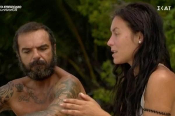 Survivor 4: Ξεμπρόστιασε τον «Κόρο» η Μαριάνθη - «Έφερα έναν αστακό και μου άρπαξε το ψαροντούφεκο»