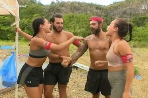 Survivor 4: Απίστευτο «ξεκατίνιασμα» Νικολέτας και Μαριάνθης - Παραλίγο να έρθουν στα χέρια