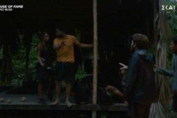 Survivor 4: Γης Μαδιάμ στην μπλε ομάδα - Κόντεψαν να έρθουν στα χέρια Σάκης και Τζέιμς