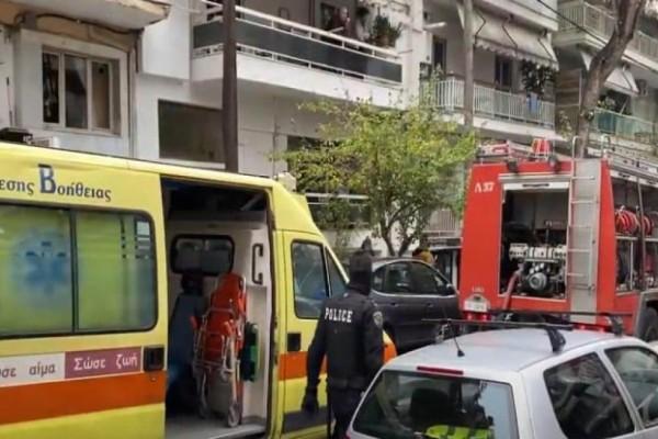 Συναγερμός στην Θεσσαλονίκη: Φωτιά σε διαμέρισμα 3ου ορόφου (Video)