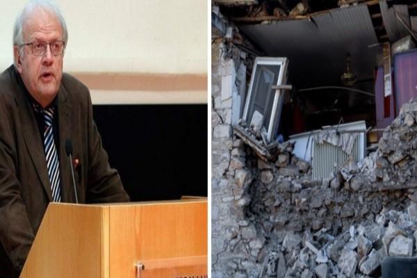 Σεισμός στην Ελασσόνα: Προειδοποίηση Άκη Τσελέντη - «Θα ακολουθήσουν αρκετοί μετασεισμοί»