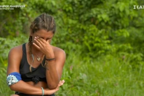 Survivor 4: Πλάνταξε στο κλάμα η Μαριαλένα - «Θα με φάνε λάχανο»