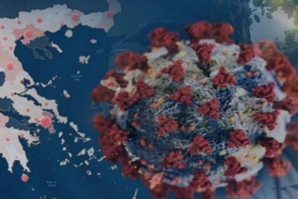 Ο χάρτης του κορωνοϊού στην Ελλάδα: «Βράζει» η Αττική με 1.581 κρούσματα - 418 στη Θεσσαλονίκη