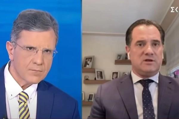 Άδωνις Γεωργιάδης: «Το οικονομικό μας μέλλον είναι λαμπρό, το μόνο που μένει είναι να εμβολιαστούμε»