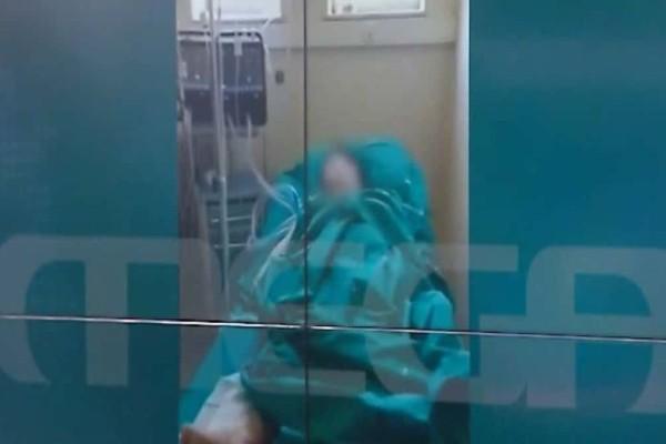 Έγκλημα στον Ερυθρό Σταυρό: Συνελήφθη ο ασθενής που αποσυνέδεσε τον αναπνευστήρα του 76χρονου (Video)
