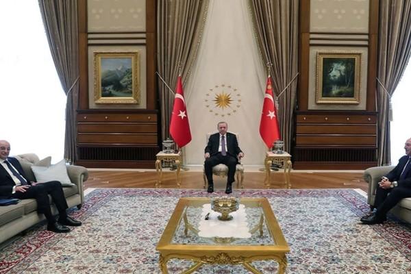 Ελληνοτουρκικά: Σε εξέλιξη οι συναντήσεις Δένδια με Ερντογάν και Τσαβούσογλου - Τα μηνύματα που κρύβονται στο παρασκήνιο (Video)