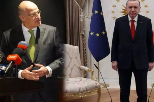 Ελληνοτουρκικά: Γιατί ο Ρετζέπ Ταγίπ Ερντογάν ζήτησε ξαφνικά να δει τον Νίκο Δένδια