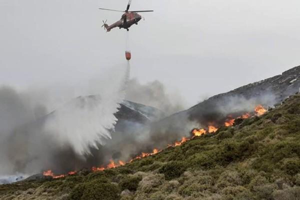 Φωτιά-Άνδρος: Ντοκουμέντο-σοκ! «Θα βάλω φωτιά» είχε πει πρόεδρος κοινότητας του νησιού (Video)