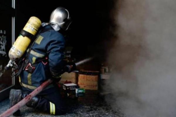 Νεκρός άνδρας από φωτιά σε μονοκατοικία στη Λάρισα