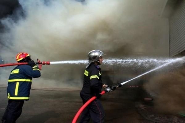 Φωτιά στο Νέο Ηράκλειο