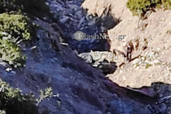Σοκ στη Γαύδο: Νεκρή γυναίκα από πτώση αυτοκινήτου σε γκρεμό!