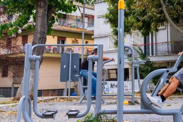 Νέοι χώροι υπαίθριας άθλησης σε Νίκαια -  Αγ. Ι. Ρέντη