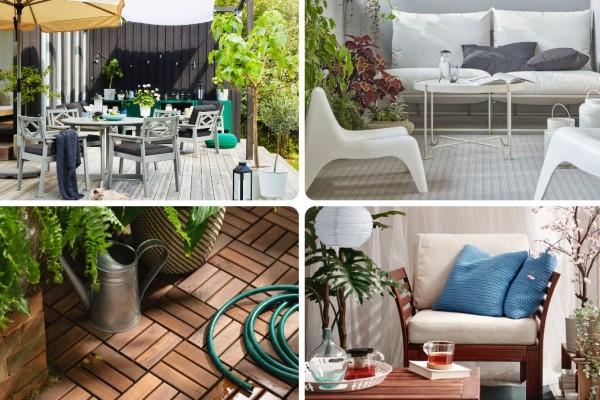 ΙΚΕΑ: Φτιάξτε τη βεράντα ή τον κήπο των ονείρων σας!